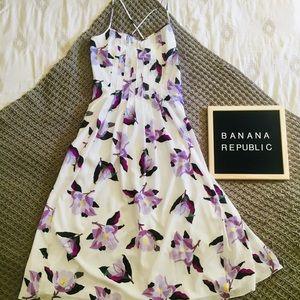 Banana Republic Spring Floral Dress